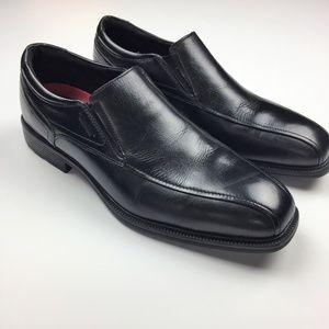 Rockport Slip Resistant Waterproof Black Loafers